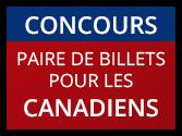 Concours - Paire de billets pour les Canadiens
